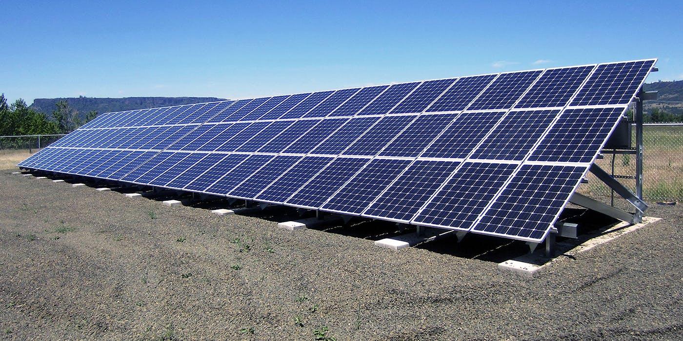 Photo Environmental Initiative Solar Array